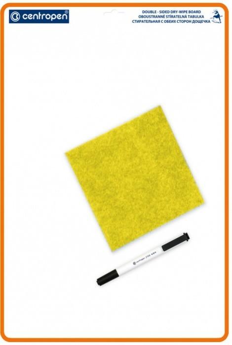 Centropen Oboustranně stíratelná tabulka A4 - 7779