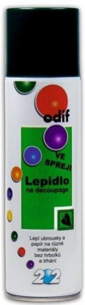 SMT Lepidlo ve spreji na decoupage - 202