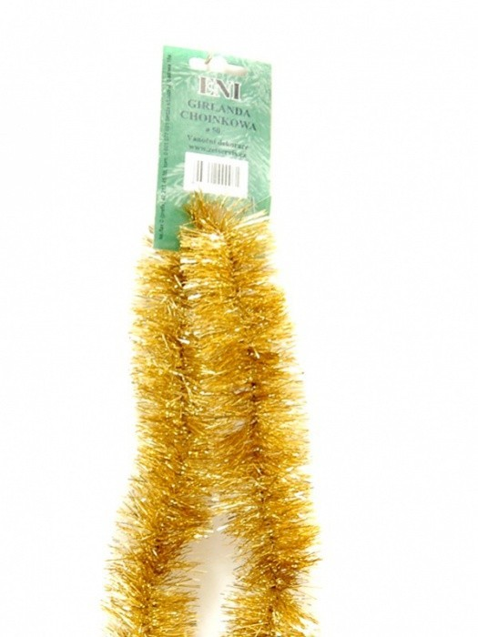 Zet servis Vánoční řetěz zlatý 6PLY