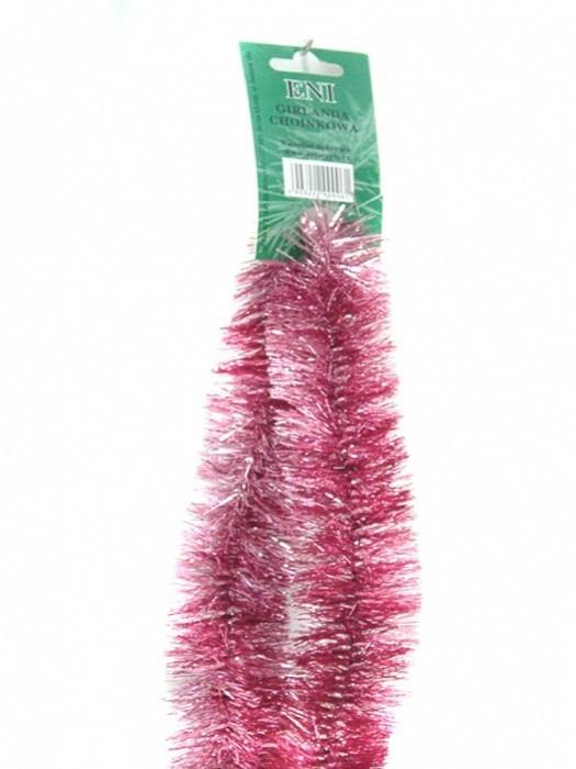 Zet servis Vánoční řetěz růžový 6PLY