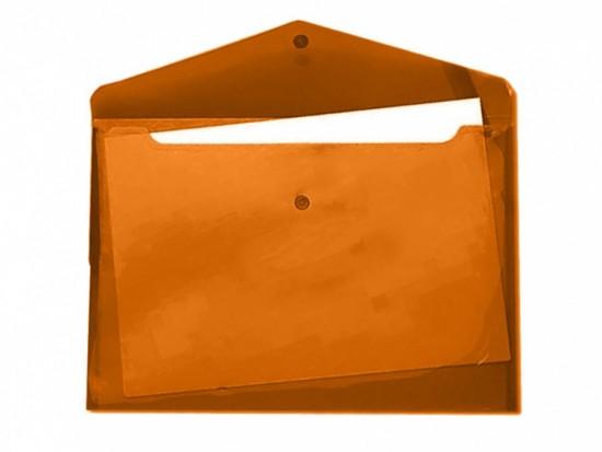 Desky s drukem a klopou A5 oranžové