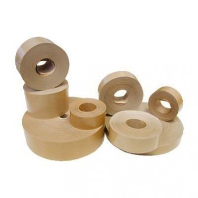 Viba Lepicí páska papírová hnědá 80 mm x 50 m