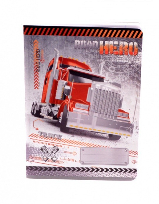 Argus Sešit A5 - Truck - 40 listů - 1595-0278