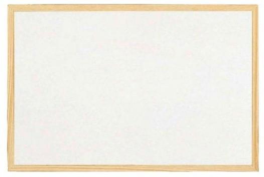 Officeline Magnetická tabule bílá, 90 x 120 cm - dřevěný rám - DI-WH-4