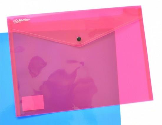 Karton P+P Psaníčko s drukem A4 - Ecollection - růžové - 2-616
