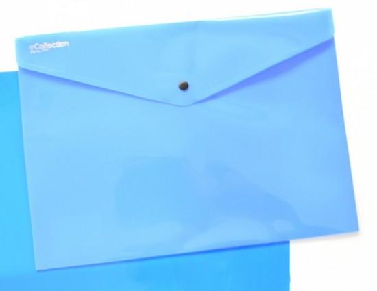 Karton P+P Psaníčko s drukem A4 - Ecollection - modré - 2-617