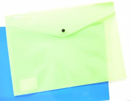 Karton P+P Psaníčko s drukem A4 - Ecollection - zelené - 2-618
