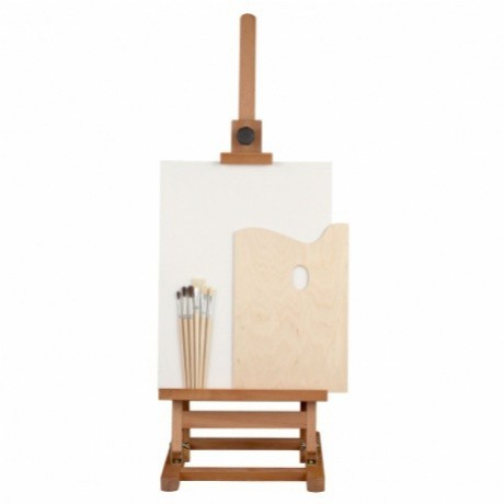 Výtvarný set B/DP - stojan, plátno, paleta, štětce