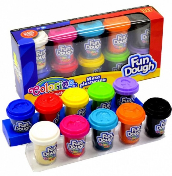 Colorino Fun Dough 10x56g
