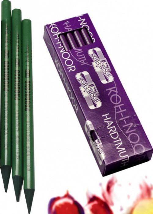 Tužka pastelová v laku KOH-I-NOOR 8750005007KS - zeleň tmavá