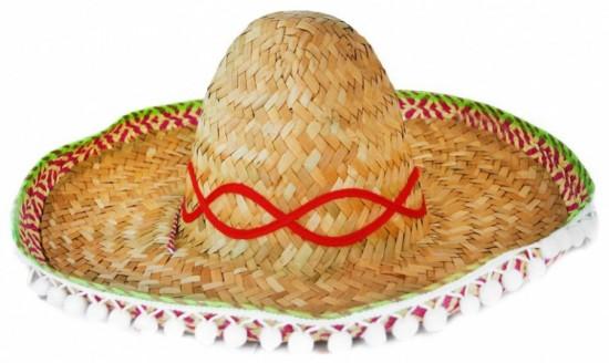 Klobouk - slamák Mexico - dospělý - 058101
