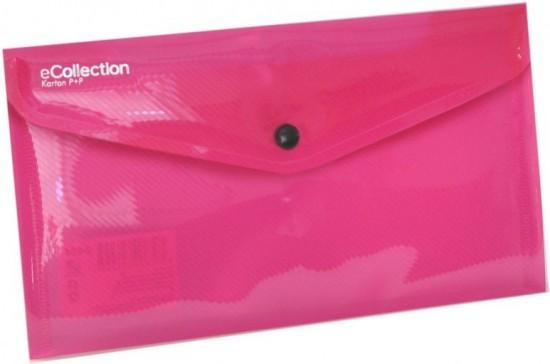 Karton P+P Psaníčko s drukem DL - Ecollection - růžová - 2-624