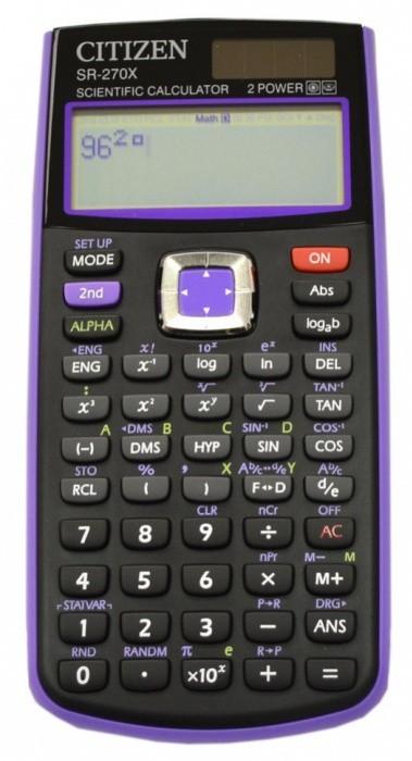Kalkulačka vědecká Citizen - SR-270XPU - Purple