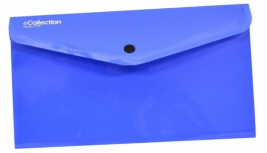 Karton P+P Psaníčko s drukem DL - Ecollection - modrá - 2-625