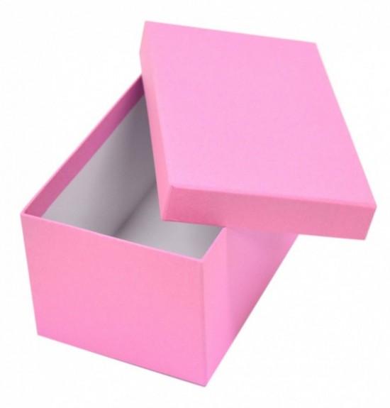 Stil Dárková krabička D3 - růžová - 20 x 12 x 10 cm