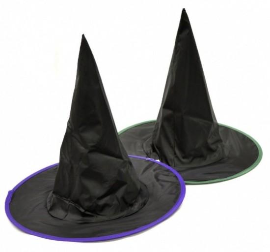 Čarodějnický klobouk černý - dětský - 560109