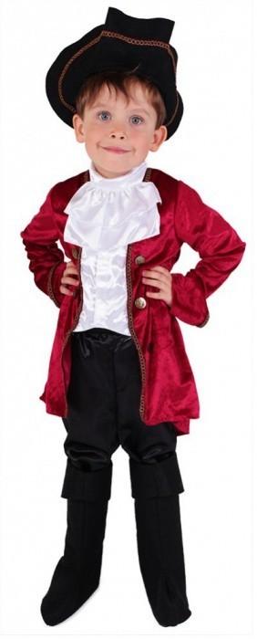 Karnevalový kostým kapitán Hook, vel. S 141155