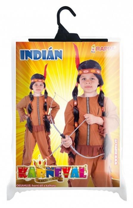 Kostým - Indián vel. M - 021136