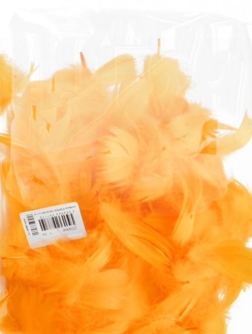 Peří - světle oranžové 10 g - 229005