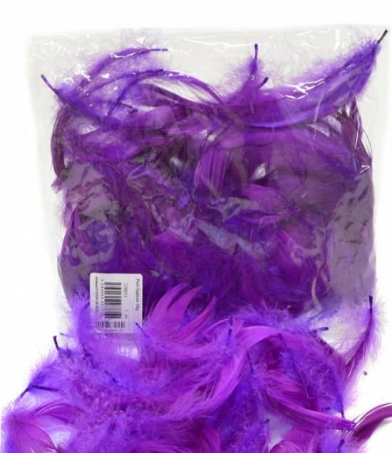 Peří - fialové 10 g - 229011