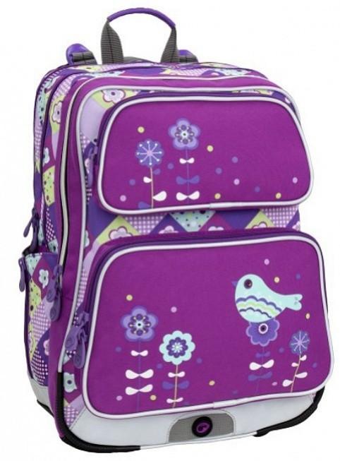 Školní batoh Bagmaster - Galaxy 6 A - Violet/Blue + Pero Frixion ZDARMA