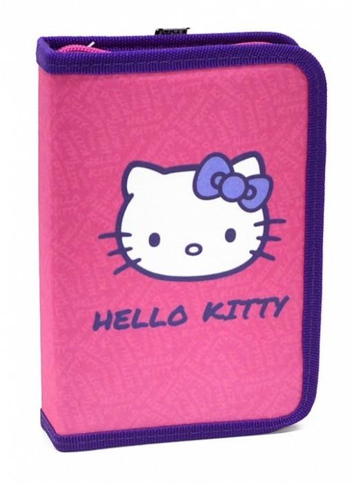 Karton P+P Penál 1 patrový s chlopní Hello Kitty Kids 2016 - 1-286