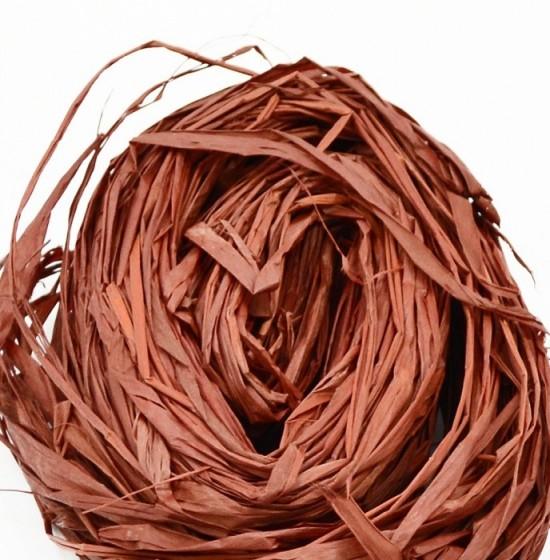 Lýko přírodní Raphia - Tmavě hnědé - 50 g - 64133