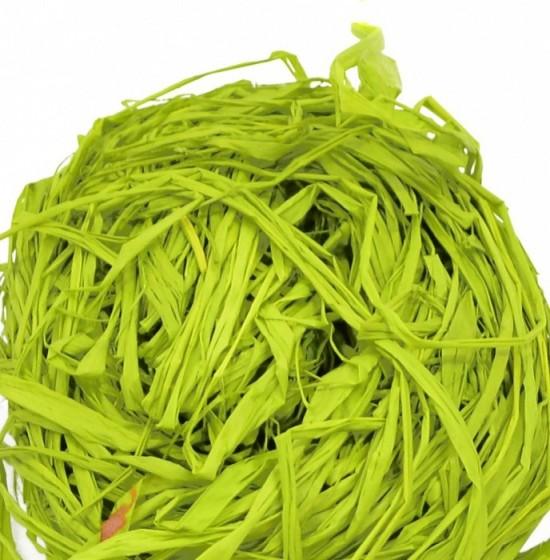 Lýko přírodní Raphia - Světle zelené - 50 g - 64149