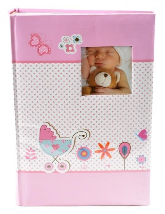 Fotoalbum 10 x 15 cm - 300 fotek - Baby Moments - růžové - 98.407.12 - 235377