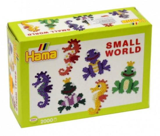 Lowlands international Zažehlovací korálky - Malý svět - Vodní zvířátka - H3501
