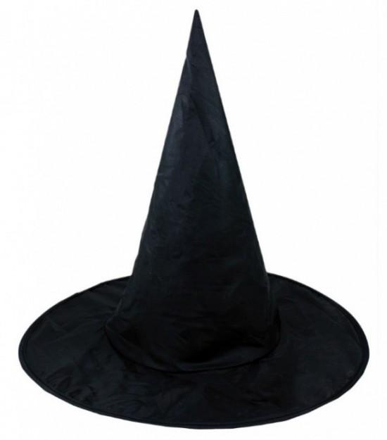 Klobouk čarodějnický černý - dospělý 603127