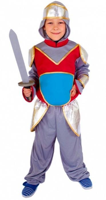Karnevalový kostým - Rytíř vel. S - 504035