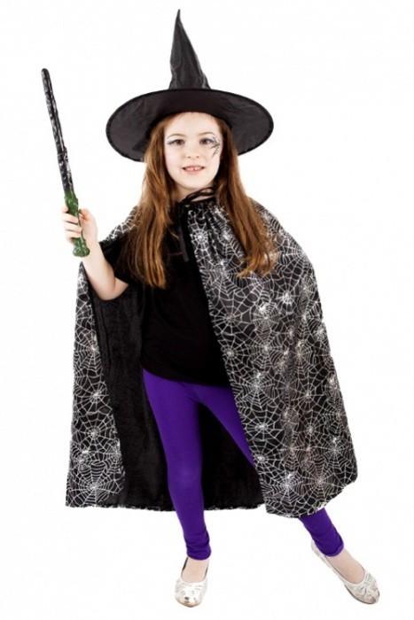 Karnevalový kostým - Plášť Čarodějnický/Halloween - 608214
