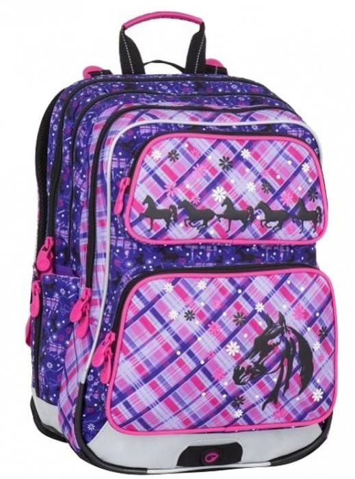 Školní batoh Bagmaster - Galaxy 7 B - Violet/Pink + Pero Frixion ZDARMA