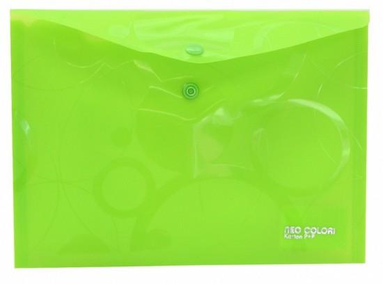 Karton P+P Psaníčko s drukem A5 - Neo Colori - zelená - 2-450