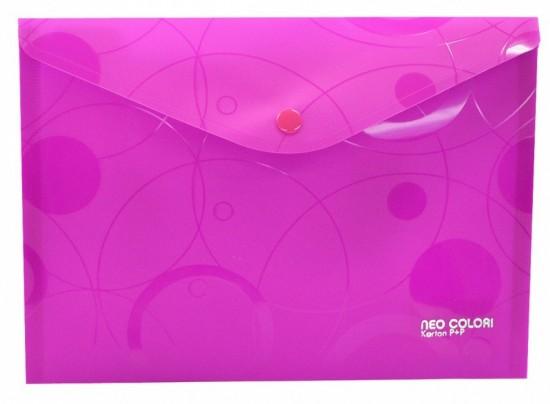 Karton P+P Psaníčko s drukem A5 - Neo Colori - růžová - 2-453