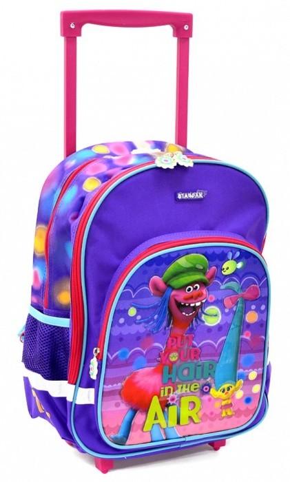 Školní batoh na kolečkách Trolls - 372621