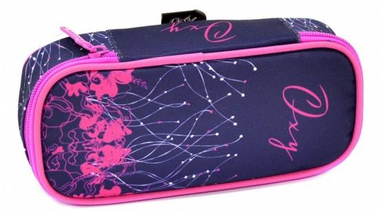 Pouzdro - Etue Komfort - Karton P+P Oxy Pink Flowers - 7-76417