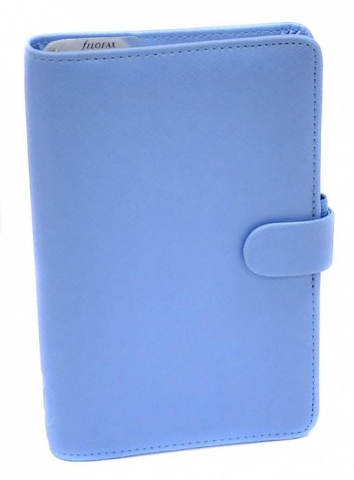 Filofax Diář Filofax - Saffiano - osobní - Compact - modrý - 022590