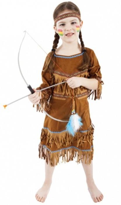 Karnevalový kostým - Indiánka - vel. L - 153653