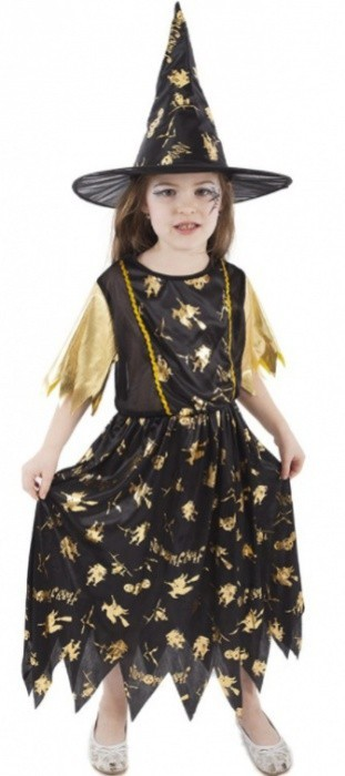 Karnevalový kostým - Čarodějnice vel. S - 423121