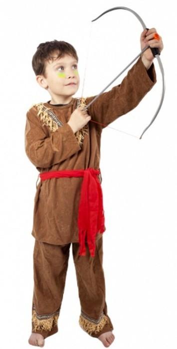 Karnevalový kostým - Indián - dětský - vel. M - 610934