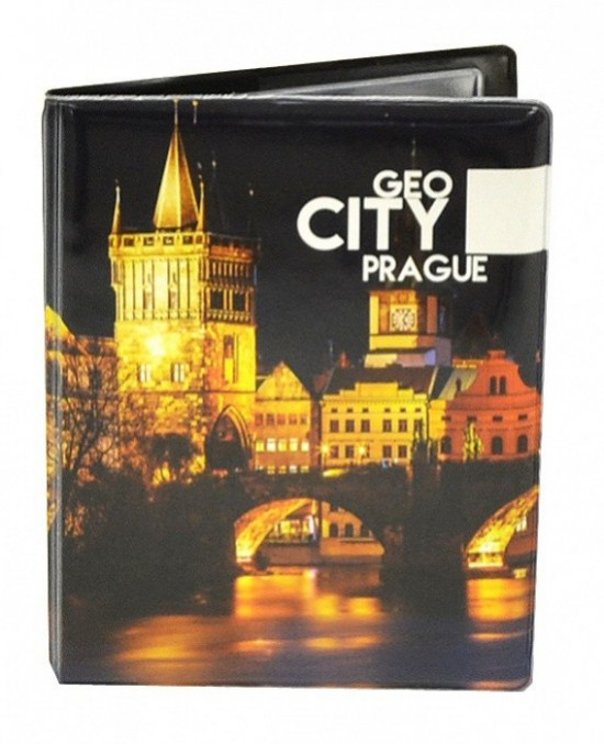 Karton P+P Obal na doklady - Geo City Prague - 6-12517