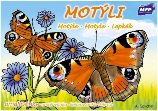 MFP Omalovánky A5 - Motýli - 5300701