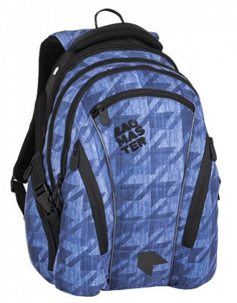 145b18a648 Studentský batoh Bagmaster - Bag 8 B - Blue Black