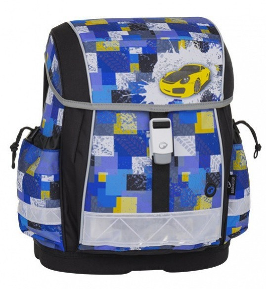 6adef3028c Bagmaster Školní aktovka Bagmaster - Epson 8 B - Black   Blue   Yellow