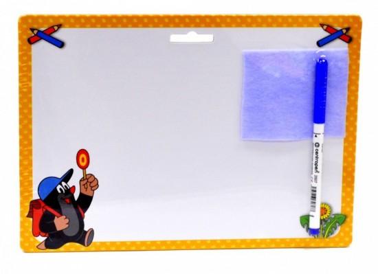 Akim Stiratelná tabulka A4 s popisovačem - Krtek 2 - 6519