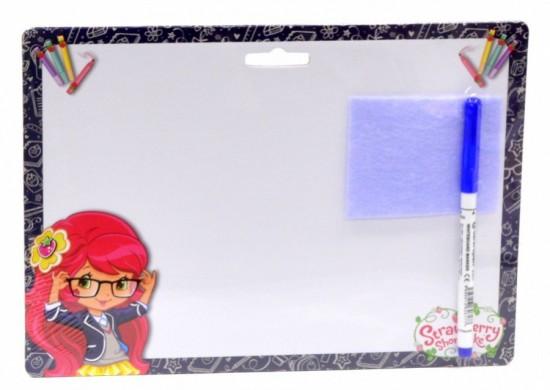 Akim Stiratelná tabulka A4 s popisovačem - Strawberry 2 - 6526
