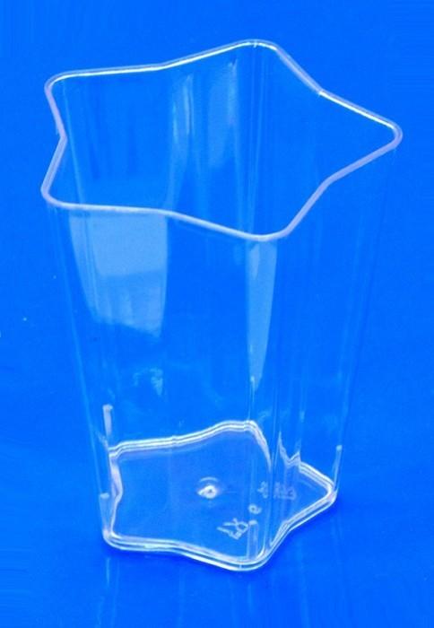 Wimex Fingerfood - kelímek - Hvězda - 5 x 5 x 6,1 cm - 60 ml - 66341