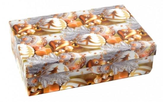 Argus Dárková krabice Argus - vánoce - Ozdoby - 26 x 17 x 7 cm - 2147